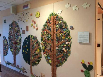 Lavori realizzati dai bambini del Policlinico Vittorio Emanuele